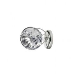 Beluga væg/loftslampe med kabeludgang - Klar