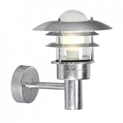 Lønstrup 22 udendørs væglampe - Galvaniseret stål