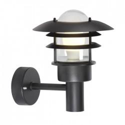 Lønstrup 22 udendørs væglampe - Sort