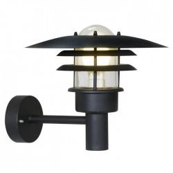 Lønstrup 32 udendørs væglampe - Sort