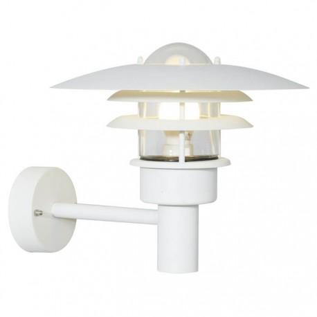 Lønstrup 32 udendørs væglampe - Hvid