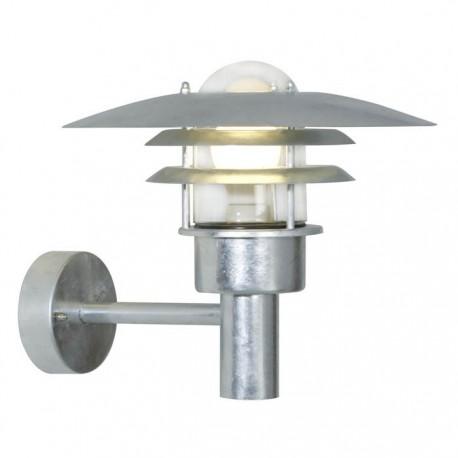 Lønstrup 32 udendørs væglampe - Galvaniseret