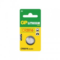 GP CR2016 Lithium knapcelle batteri