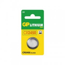 GP CR2450 Lithium knapcelle batteri