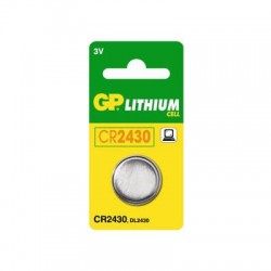 GP CR2430 Lithium knapcelle batteri
