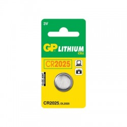 GP CR2025 Lithium knapcelle batteri