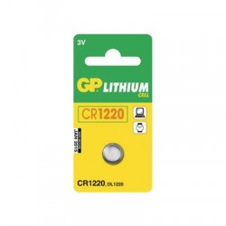 GP CR1220 Lithium knapcelle batteri