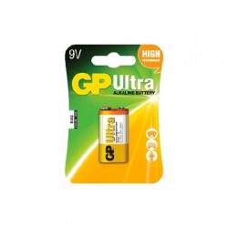 GP Ultra Alkaline 9V Batteri