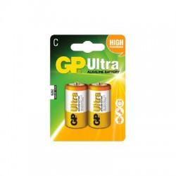 GP Ultra Alkaline C Batteri / LR14 - 2 Stk