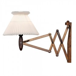 Le Klint 324 Saxlampe inkl. 6/17 skærm - Valnød