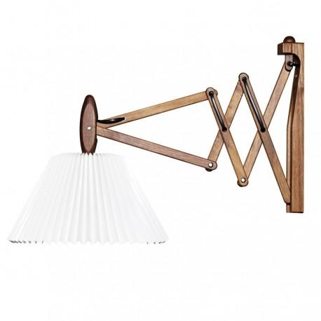 Le Klint 335 Saxlampe inkl. 2/17 skærm - Valnød