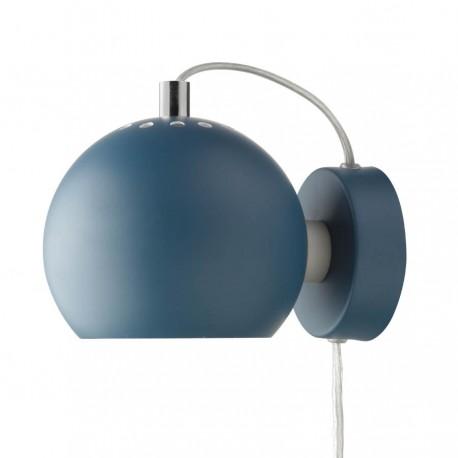 Frandsen Ball væglampe - Mat petroleum