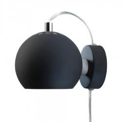 Frandsen Ball væglampe - Mat sort