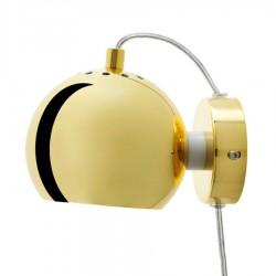 Frandsen Ball væglampe - Messing