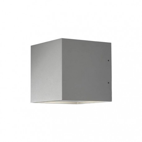 Cube XL Down LED - Aluminium
