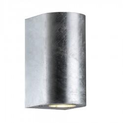 Canto Maxi væglampe - Galvaniseret stål - Nordlux