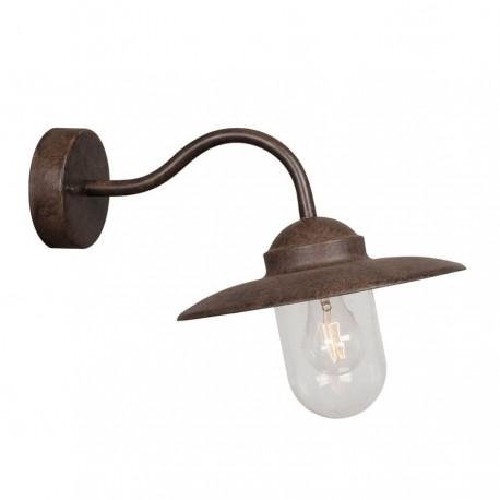 Nordlux Luxembourg væglampe - Rustfarvet