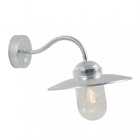 Nordlux Luxembourg væglampe - Galvaniseret stål med Sensor