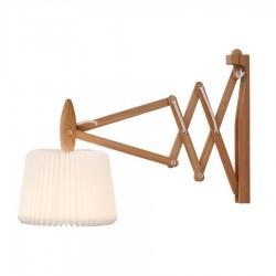 Le Klint 335-120 Saxlampe inkl. 120S Skærm - Lys eg