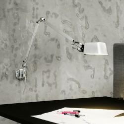 Architect W1 væglampe - Aluminium