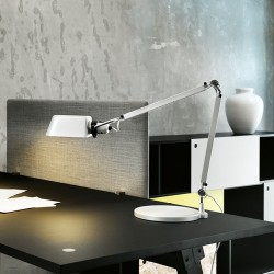 Darø Architect T1 bordlampe - Aluminium