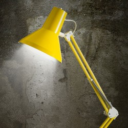 Jensen Arkitektlampe - Gul