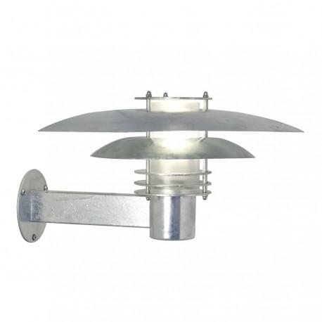 Phoenix væglampe - Galvaniseret stål