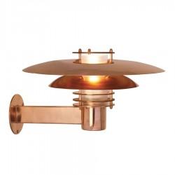 Phoenix væglampe - Kobber