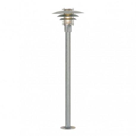 Phoenix Mini bedlampe - Galvaniseret stål