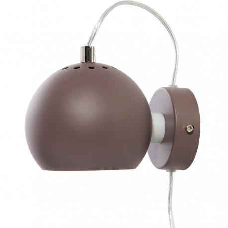 Frandsen Ball væglampe - Mat peppercorn