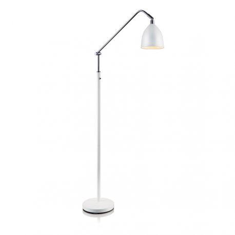 Fredrikshamn gulvlampe - Hvid