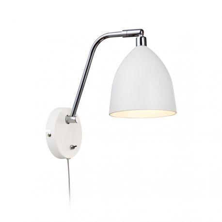 Fredrikshamn væglampe - Hvid
