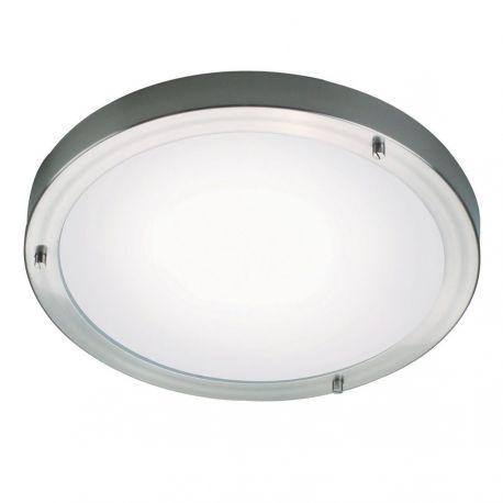 Ancona Maxi LED Plafond - Børstet stål