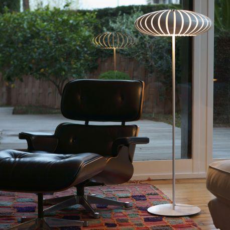 Maranga P130 gulvlampe - Hvid - Marset Barcelona