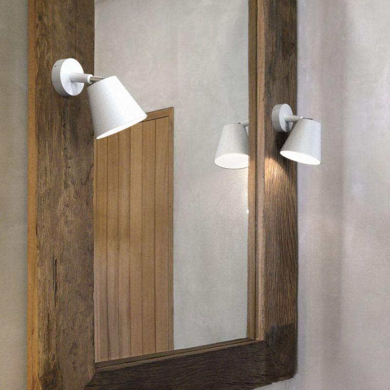 Nordlux IP S6 væglampe - Hvid - Badlamper