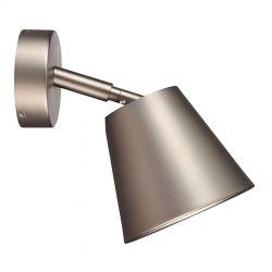 IP S6 væglampe - Børstet stål