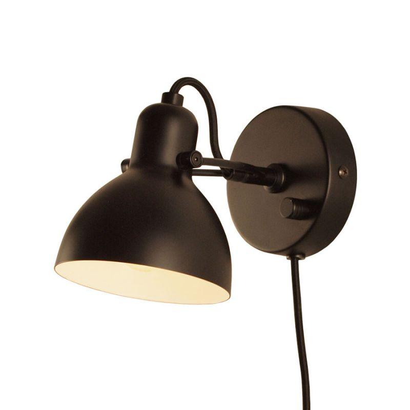 Focus Mini v u00e6glampe fra Seeddesign Sort Lys Lamper dk