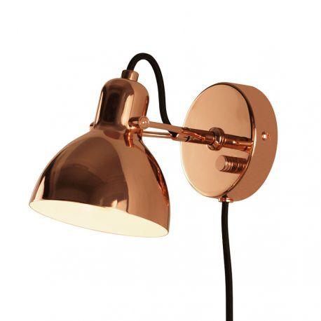 Focus Mini væglampe - Kobber