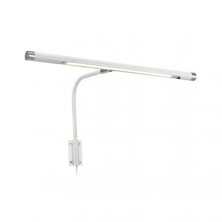Monet LED malerilampe 43 cm - Hvid
