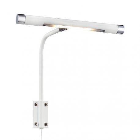 Monet LED malerilampe 22 cm - Hvid