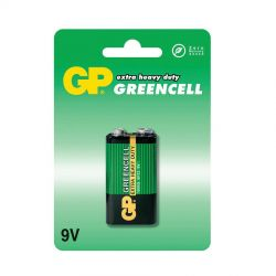 GP Greencell 9V Batteri