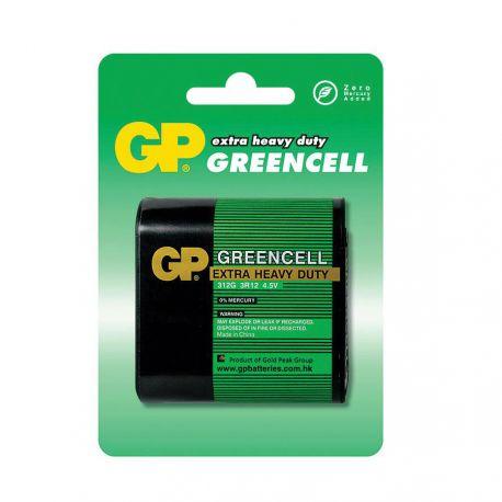 GP Greencell Extra Heavy Duty 3R12 4,5V Batteri