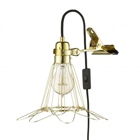 Hey There Hi - Work Lamp de Lux - Messing