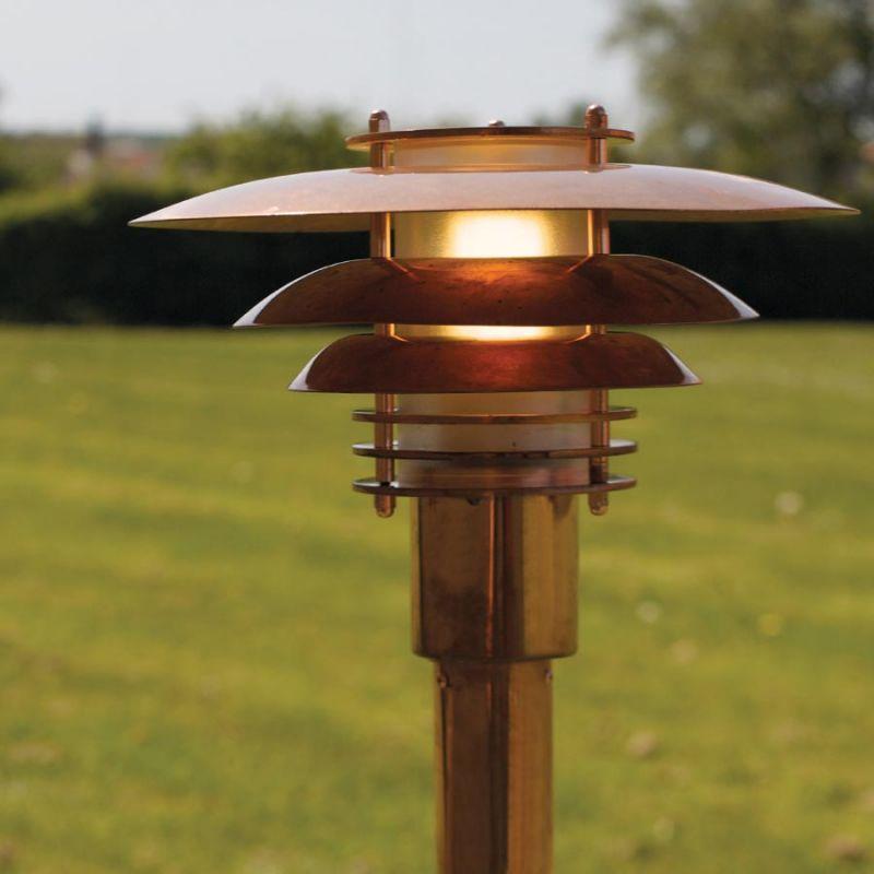 Bedlamper kobber u2013 Solceller og lysdioder