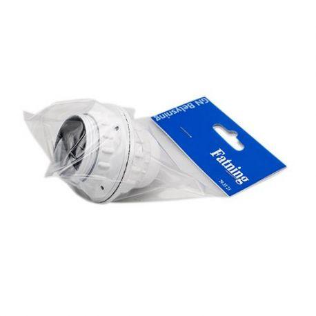 Kronefatning E27 - Hvid
