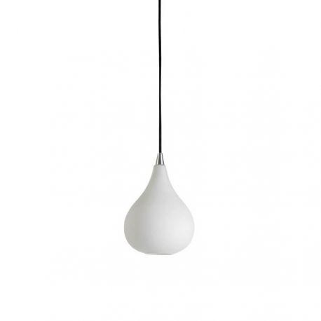 Drops pendel - Matteret opalglas - Ø17