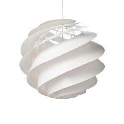 Le Klint Swirl 3 Medium - Hvid - Ø40