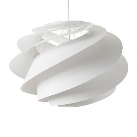 Le Klint Swirl 1 Medium - Hvid - Ø45