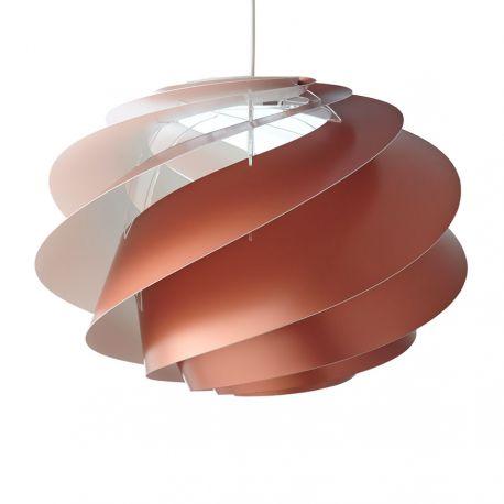 Le Klint Swirl CP 1 Medium - Kobber - Ø45