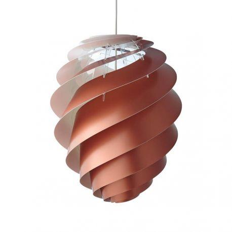 Le Klint Swirl CP 2 Medium - Kobber - Ø36
